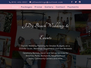 JD3 Beach Weddings
