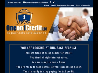 One On 1 Credit Repair