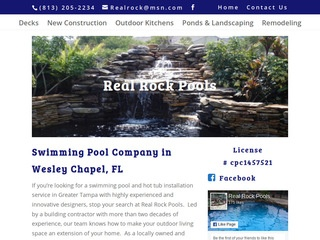 Real Rock Pools